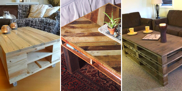 diy rustic pallet table ideas