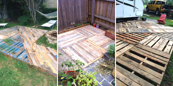 DIY Pallet Decks Ideas